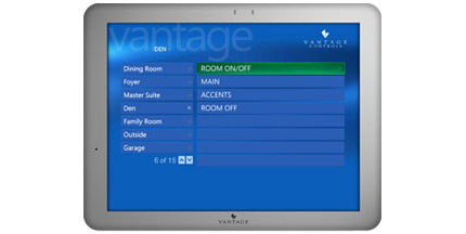 Vantage MediaPoint Control Box & TouchPoint 1210