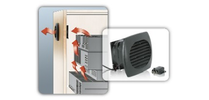 Middle Atlantic Quiet-Cool Series Cooling Solutions