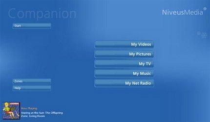 NiveusMedia Companion pour Windows Media Center