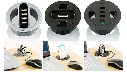 Belkin In-Desk USB Hubs