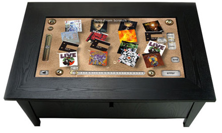 Savant AV Coffee Table Interface