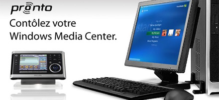 Pronto Windows Media Center