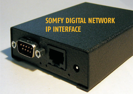 Somfy Digital Network (SDN) Internet Protocol (IP)