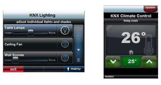 un module de pilotage knx pour les t l commandes urc. Black Bedroom Furniture Sets. Home Design Ideas
