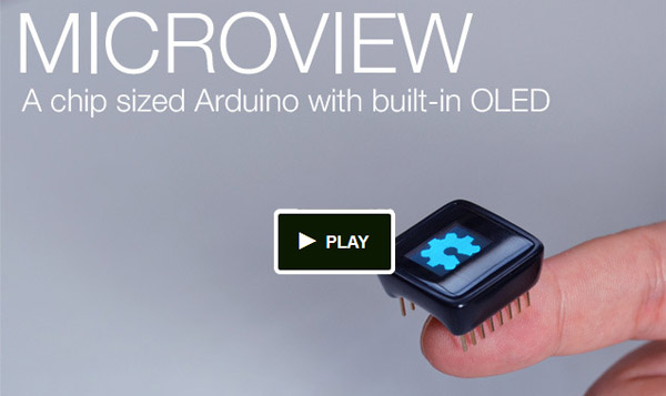 microview geekammo mini afficheur OLED multi-fonctions
