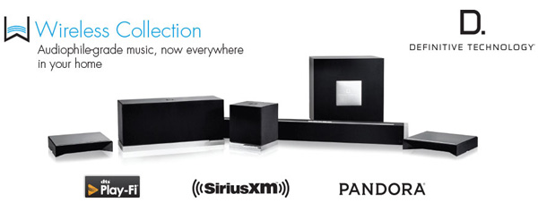 definitive technology multiroom wireless collection