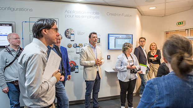 Crestron experience centre - Christophe Malsot