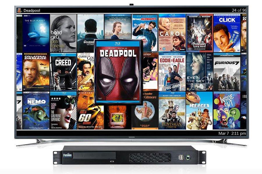 serveur video compatible NAS