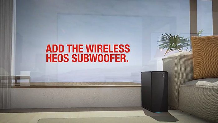 HEOS Subwoofer wireless