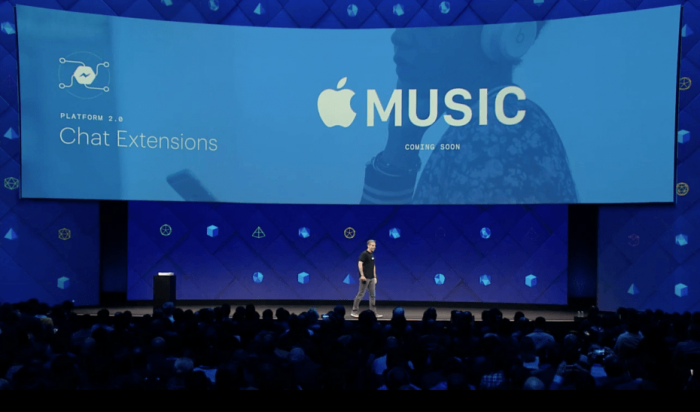 Spotify et Apple Music disponibles dans Facebook Messenger, pourquoi faire ?