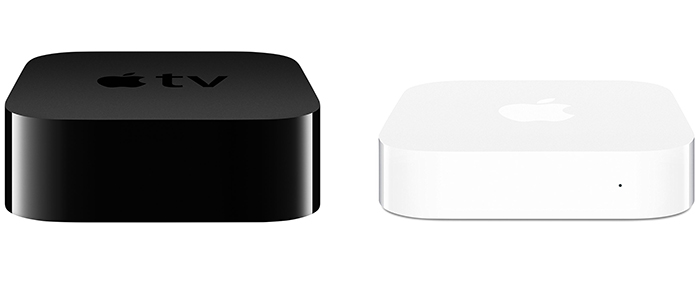 apple tv 4 airport express