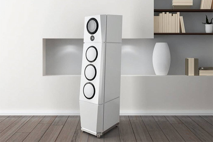 Des enceintes sans fil multiroom à 150.000 € la paire chez Goya Acoustics