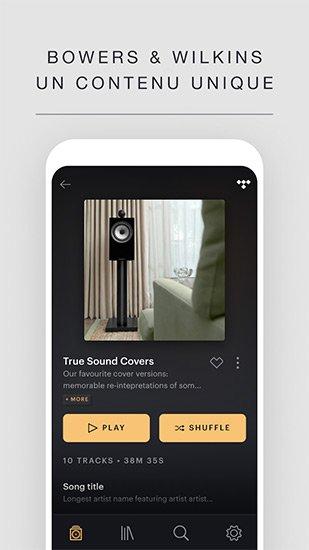 bw music app curation